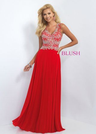 Blush Prom Style 11108 - Debra\'s Bridal Shop at The Avenues 9365 ...