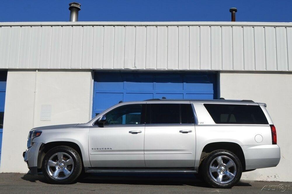 Ebay Advertisement 2015 Chevrolet Suburban Ltz Repairable Rebuildable Salvage Lot Drives Great Project Builder Fixer Ea Chevrolet Suburban Sell Car Chevrolet