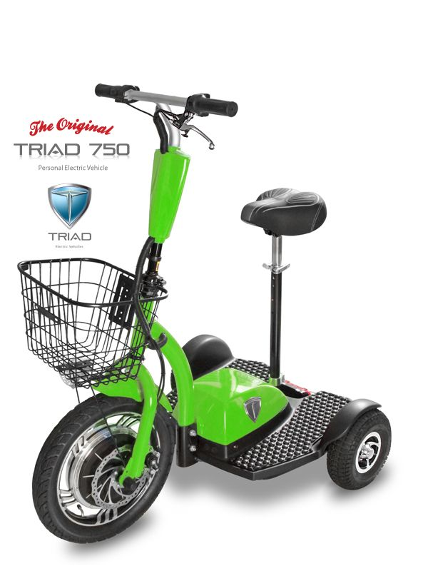 Electric Scooters For S Vehicles Personal Transporter Scooter The Triad 750 Is