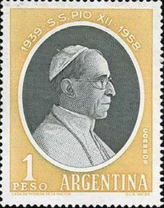 Pope Pius XII, 1876-1958