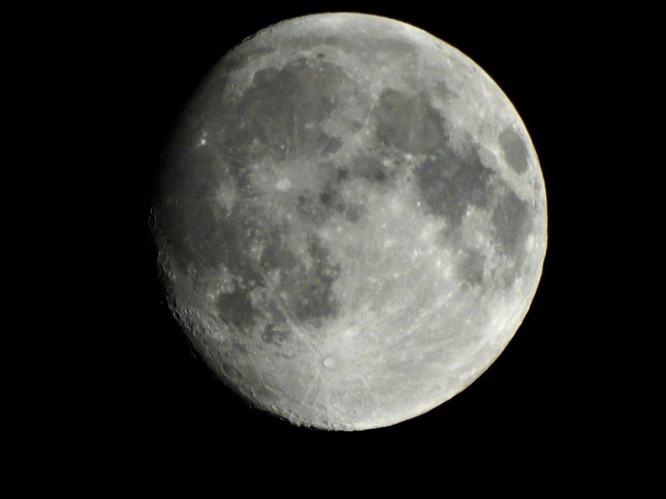 The moon from a Dutch view