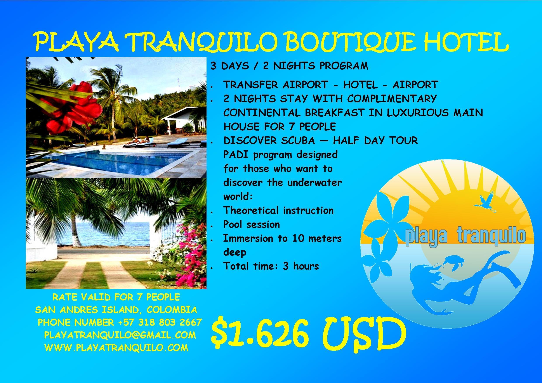 Buen día queridos amig@s! Se están perdiendo un maravilloso día en Hotel Boutique Playa Tranquilo! Los extrañamos! www.playatranquilo.com
