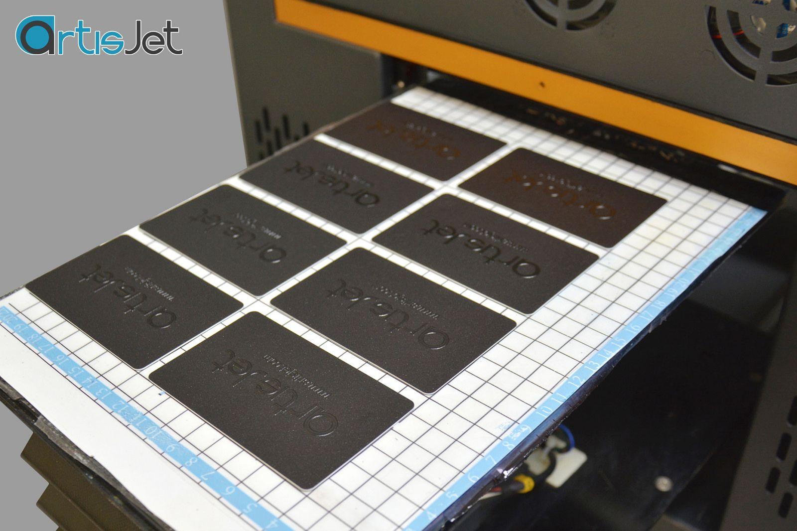 Varnish printing with artis 2100U printer | Varnishes, High class ...