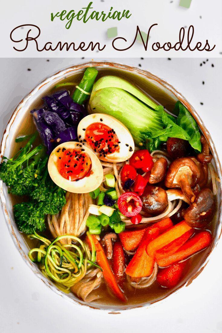 Japanese-inspired Ramen Noodle Soup
