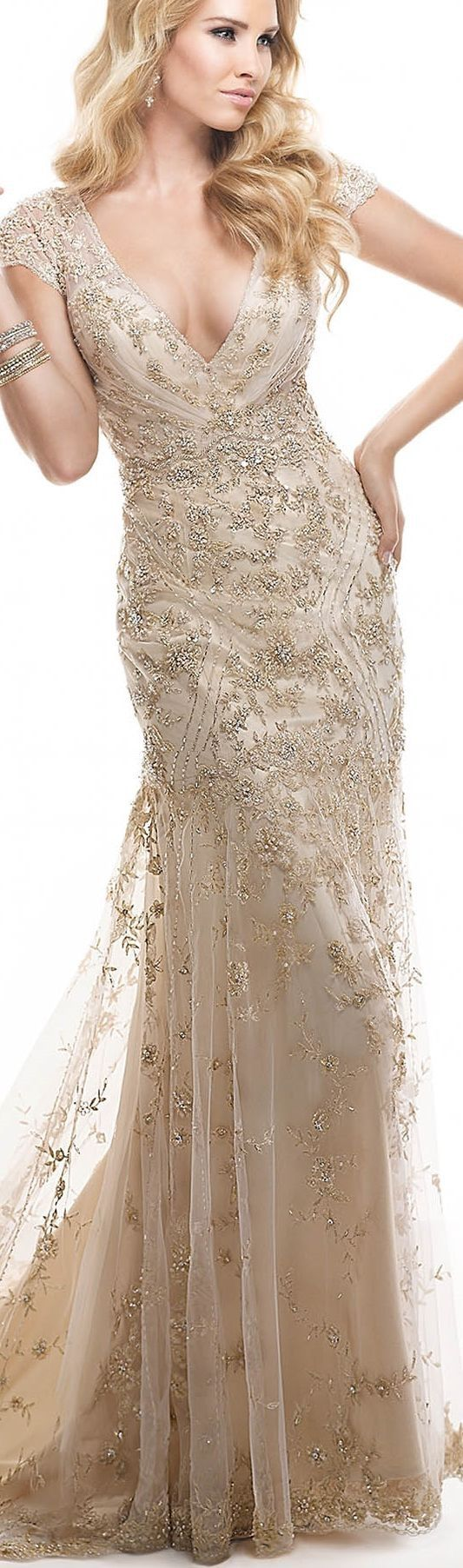 Pin by Amy Harmeier on Champagne Wedding dresses, Gowns
