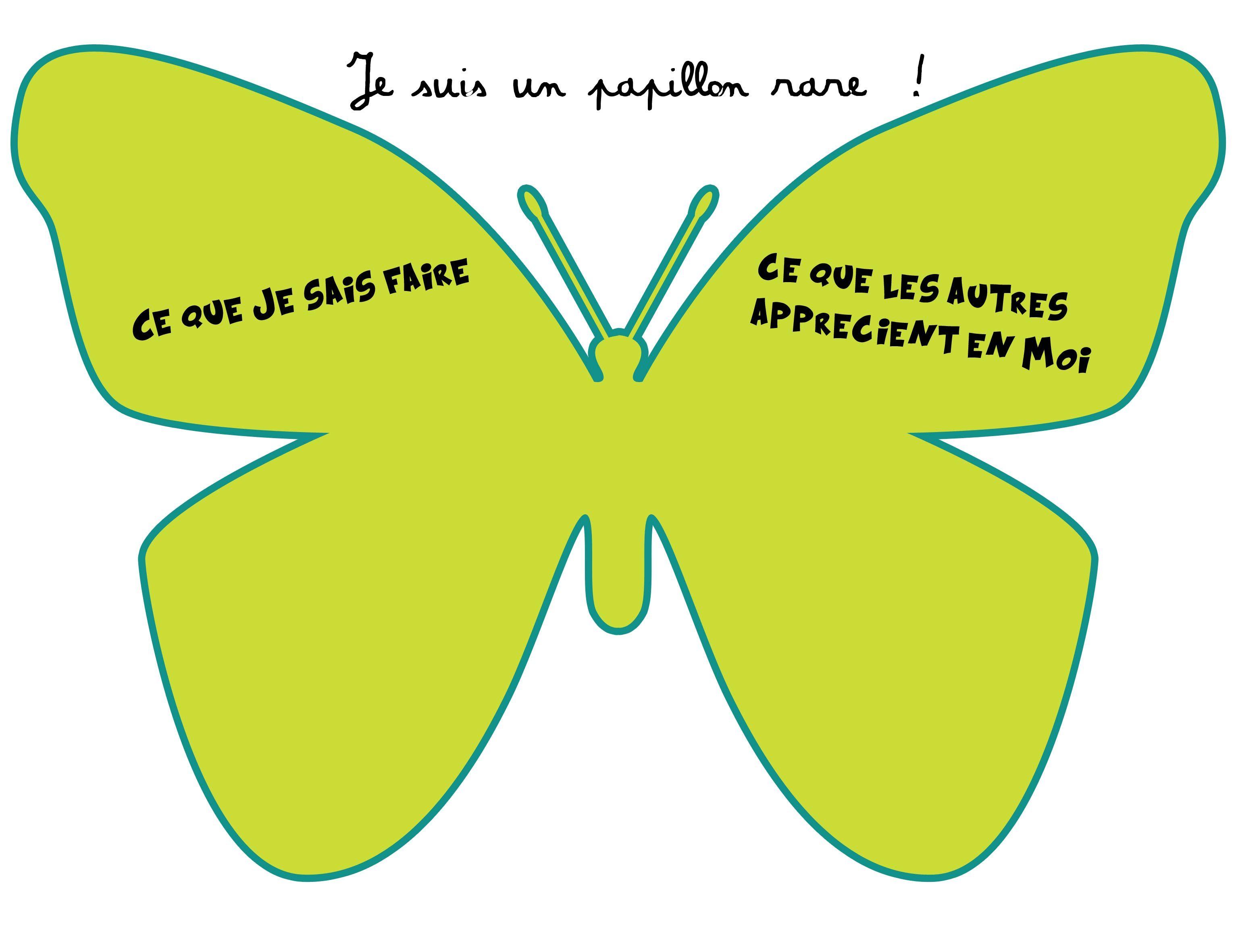 Papillon rare d velopper l 39 estime de soi duc sp pinterest estime de soi estime et - Activite manuelle a faire chez soi ...