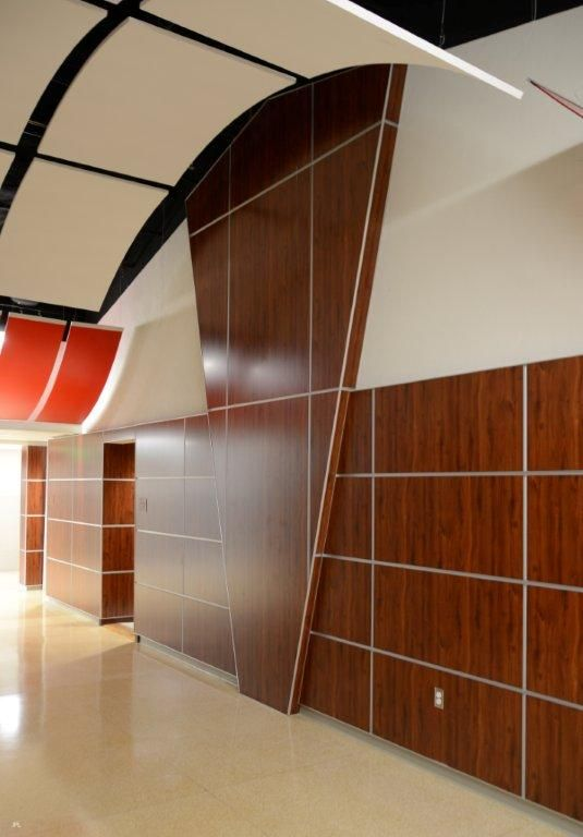 Another stunning Marlite Surface Systems installation by East Coast  Architectural  Amazing wall panel design 3d architectural wood wall panels   Custom Wood Paneling   Wall  . Architectural Wood Interior Wall Panels. Home Design Ideas