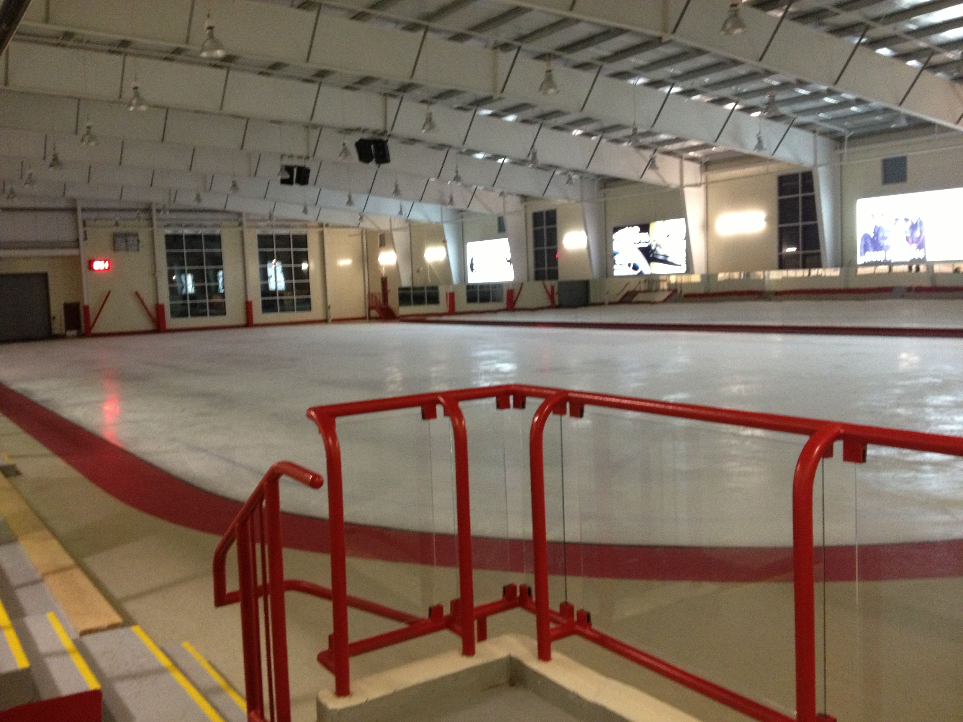 Ice Rink Home Wonderful Time Of Year. In