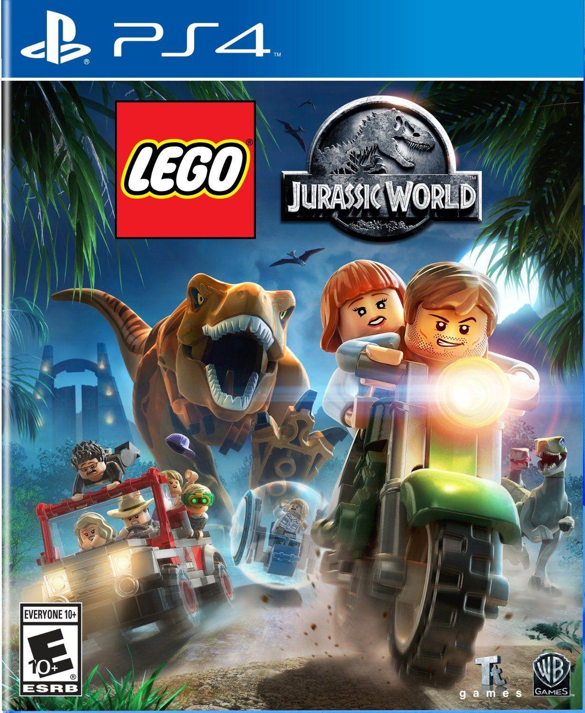 Lego Jurassicworld Game Ps4 Ps3 Wiiu Xbox360 Xboxone 3ds