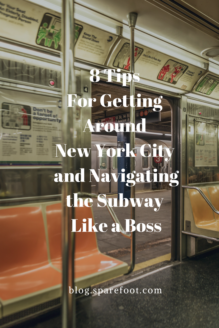 8 Tips For Getting Around New York City and Navigating the