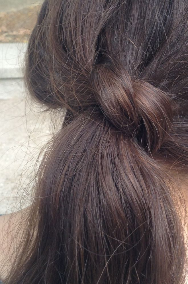 How to: Ponytail #hair #easy #diy