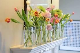 「flower in small vase」