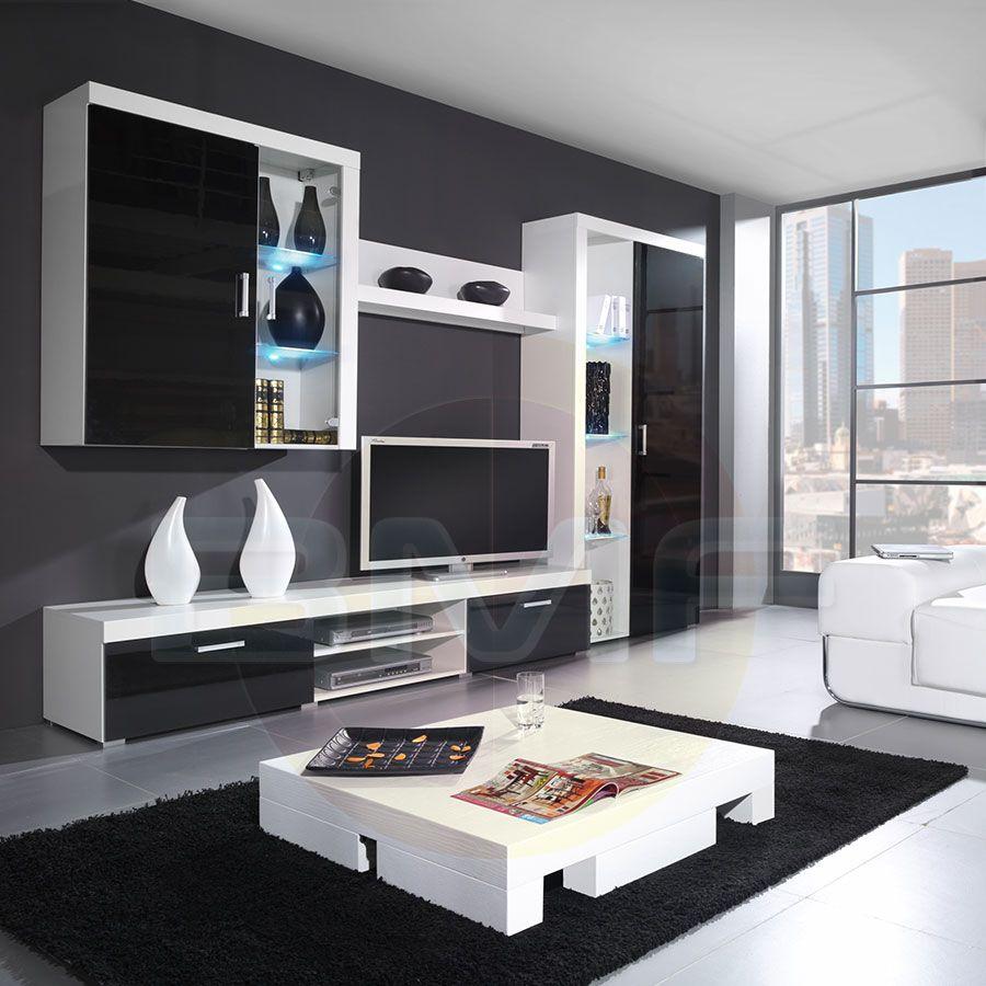 Moderne Satz Von Wohnzimmer Möbel Wand Tv Gerät Ideen  Rosamobel