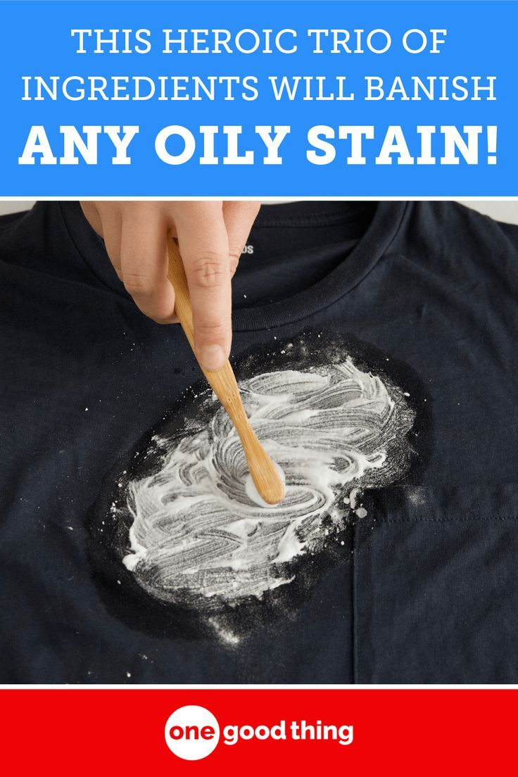 How To Get Oily Stains Out Of Dark Clothes Fun To Be One
