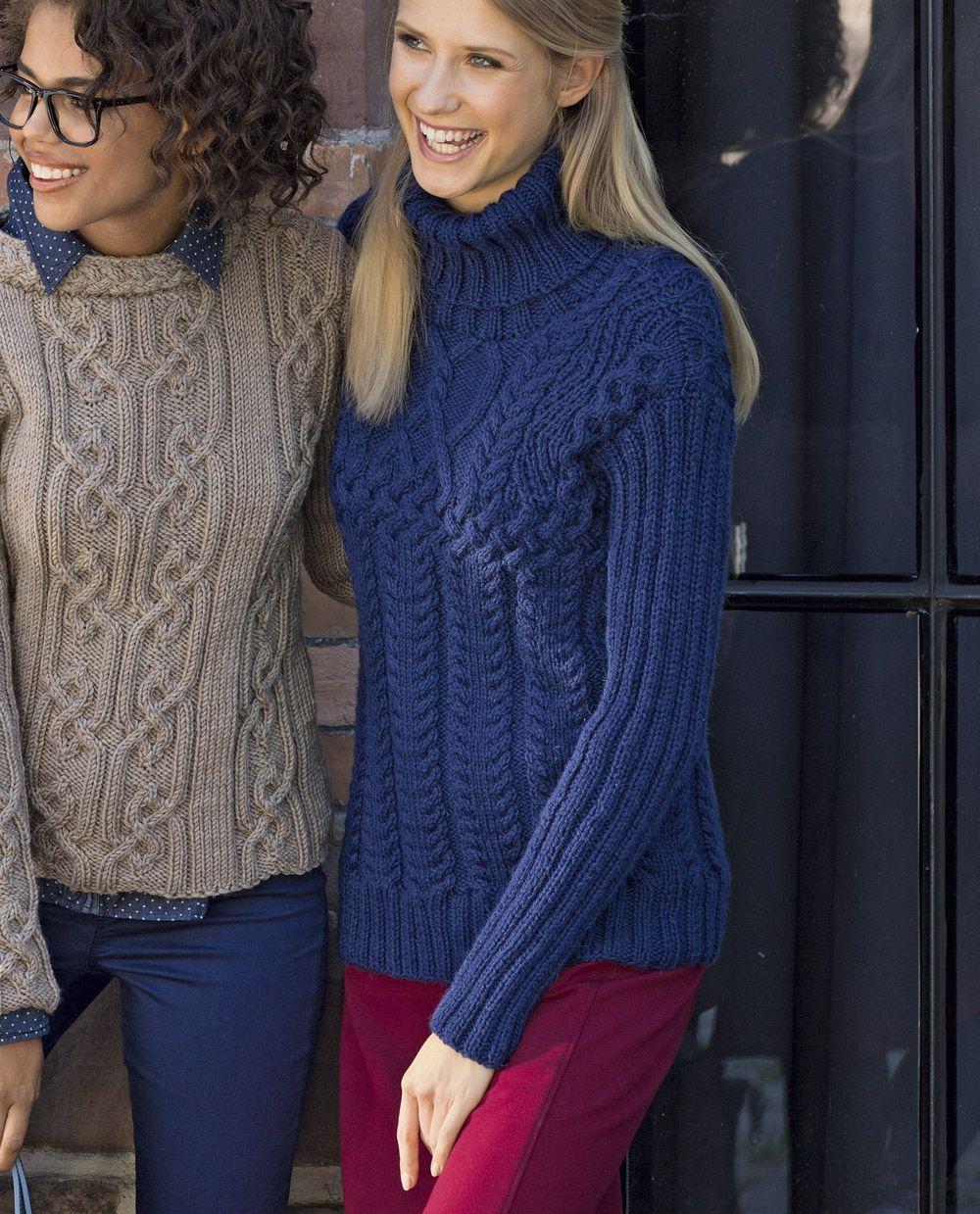 свитер для девушки схема