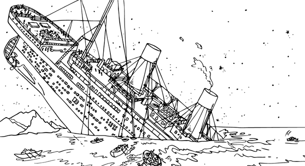 titanic coloring pages Homeschooling Unit Study Pinterest