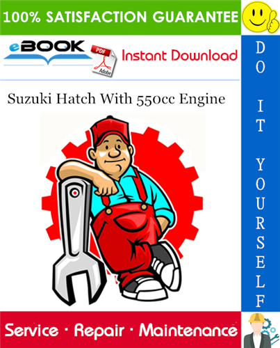 Suzuki Hatch With 550cc Engine Service Repair Manual In