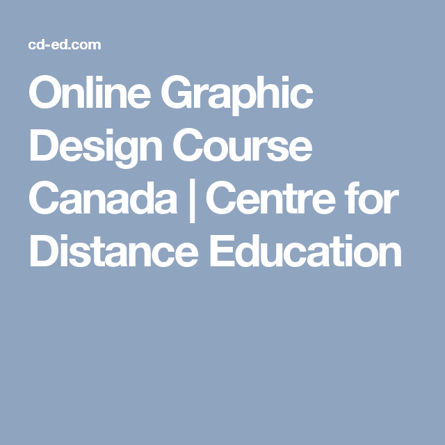 online graphic design course canada furniture design for your home