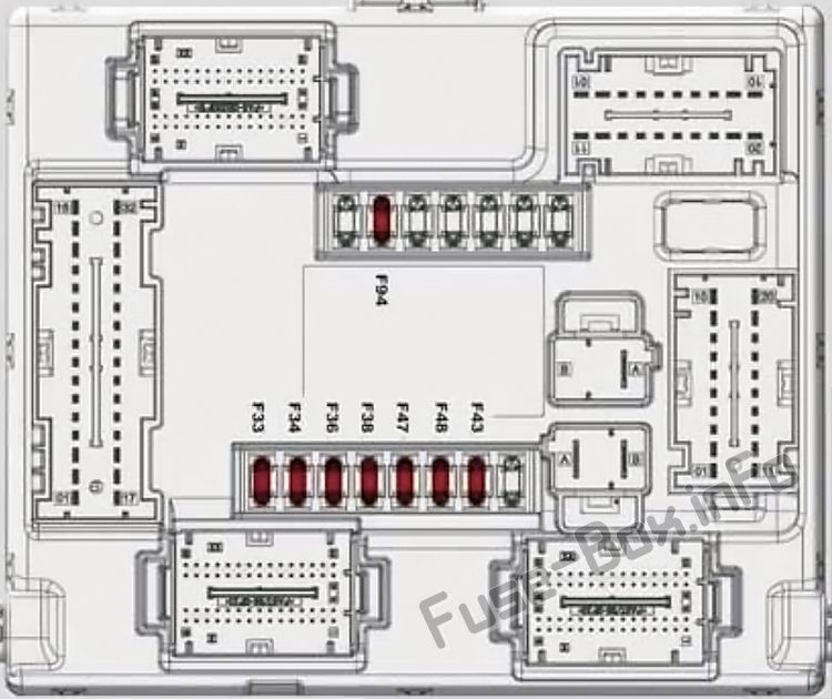 [FPWZ_2684]  Alfa Romeo Stelvio (2017-2019..) < Fuse Box diagram | Fuse box, Fuse box  cover, Alfa romeo | Alfa Romeo Fuse Box Diagram |  | Pinterest