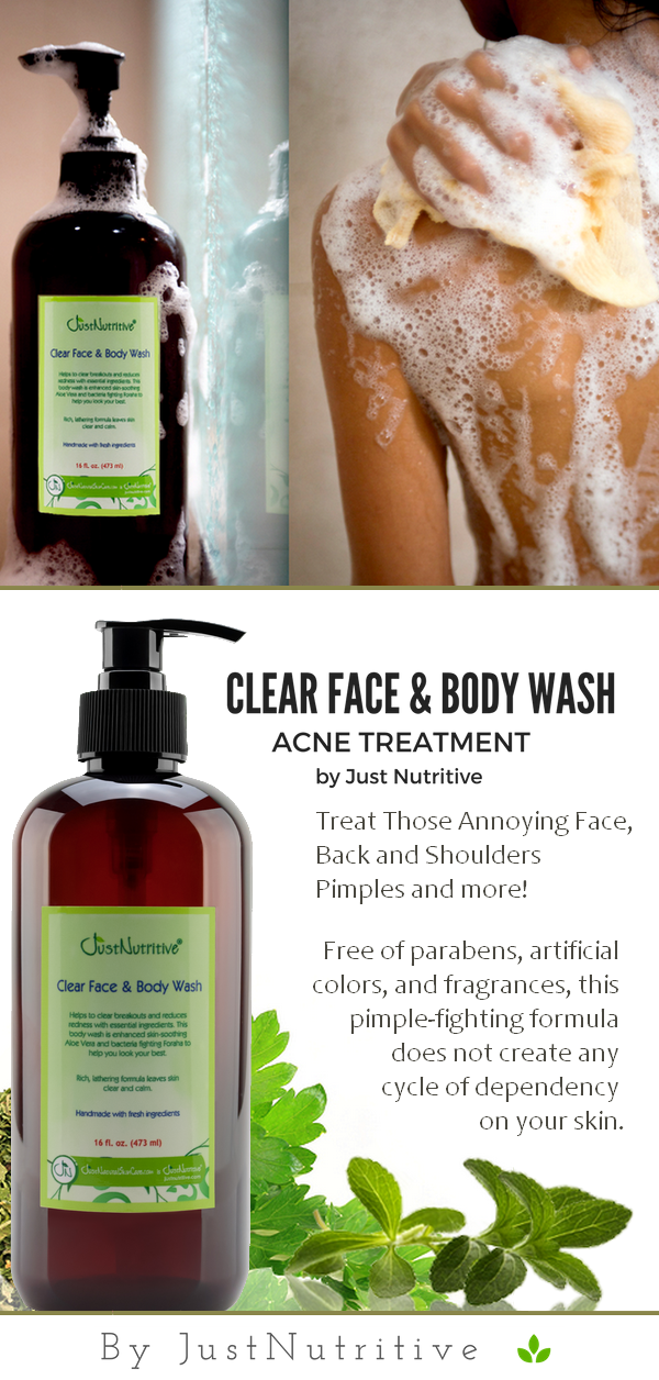 Acne Clear Face Body Wash Acne Face Body Wash Face Acne Clear Acne Clear Face