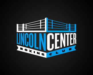 Lincoln Center Boxing Club By Reaktdesign Sports Logo Design Logo Design Sports Logo