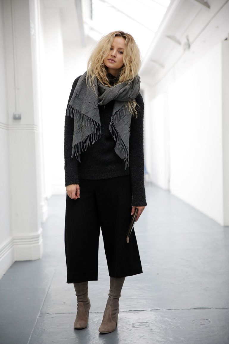 How to cropped wear pants with booties rare photo