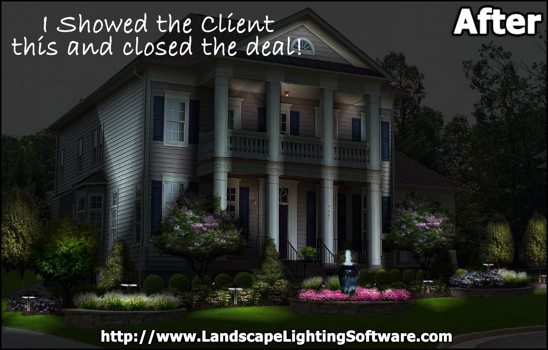 Create photo-realistic outdoor night lighting designs ...