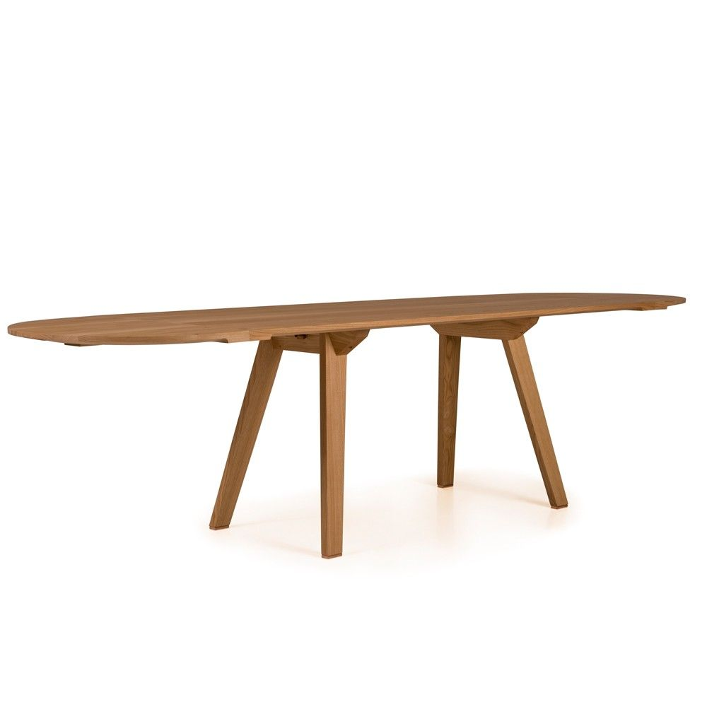 Chestnut Danish Oil Furniture Dining Table Narrow Dining