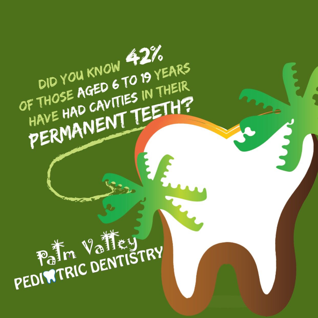 CAVITIES ARE COMMON but highly preventable! With proper