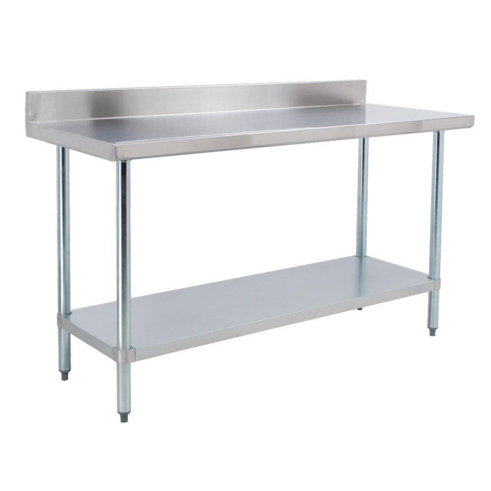 Ft Stainless Steel Table Foot Stainless Steel Catering Table Ft - 6 ft stainless steel table