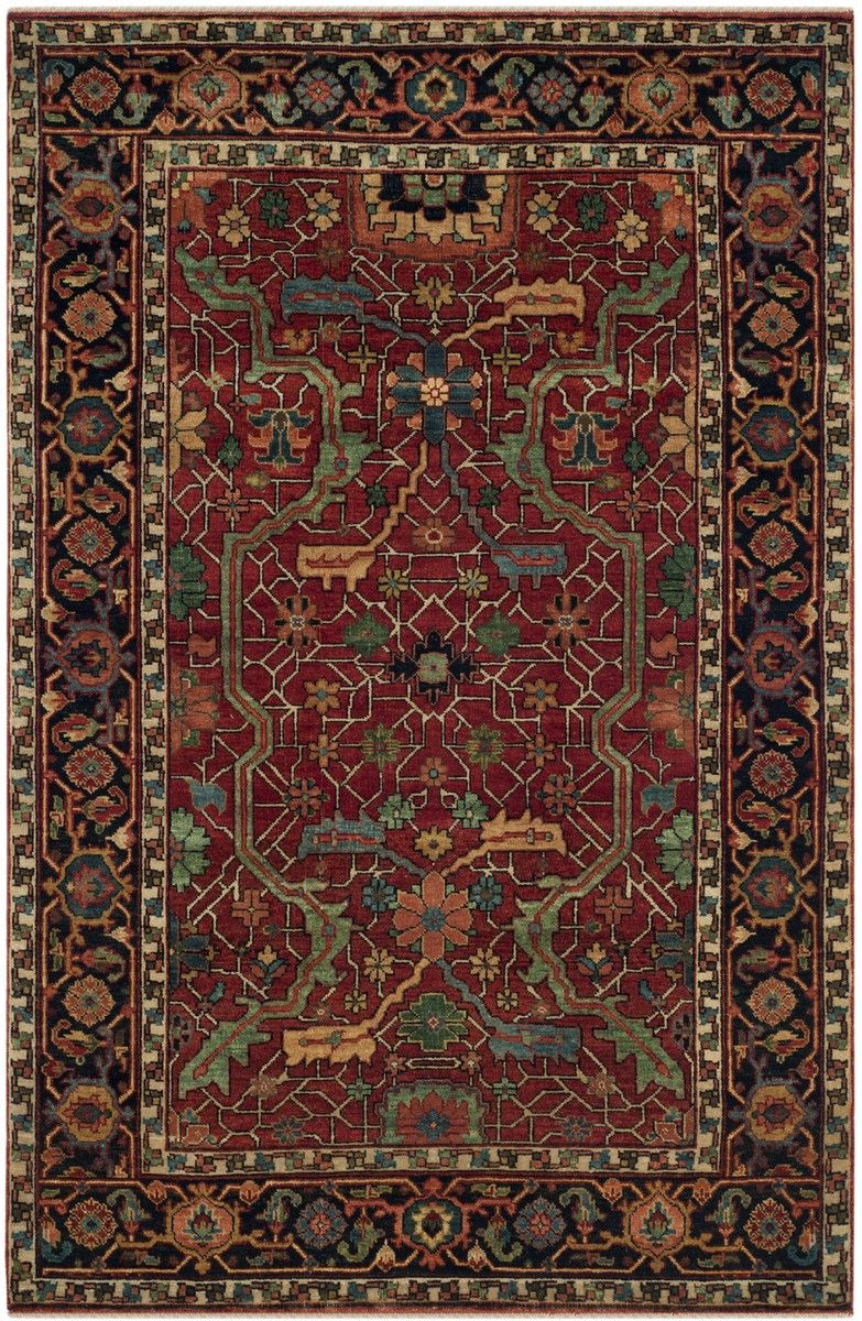 Rlr9551a Richmond Rug From Ralph Lauren Collection Rich In History The Area Rugs Was Inspired By A 19th Century Farahan