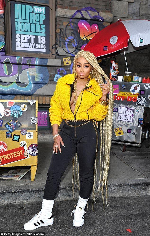 Karrueche Tran stuns in cone-bra at VH1 event