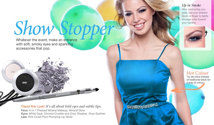 Get this Show Stopping Party Look from Pur Minerals | #prom2012 #purteen