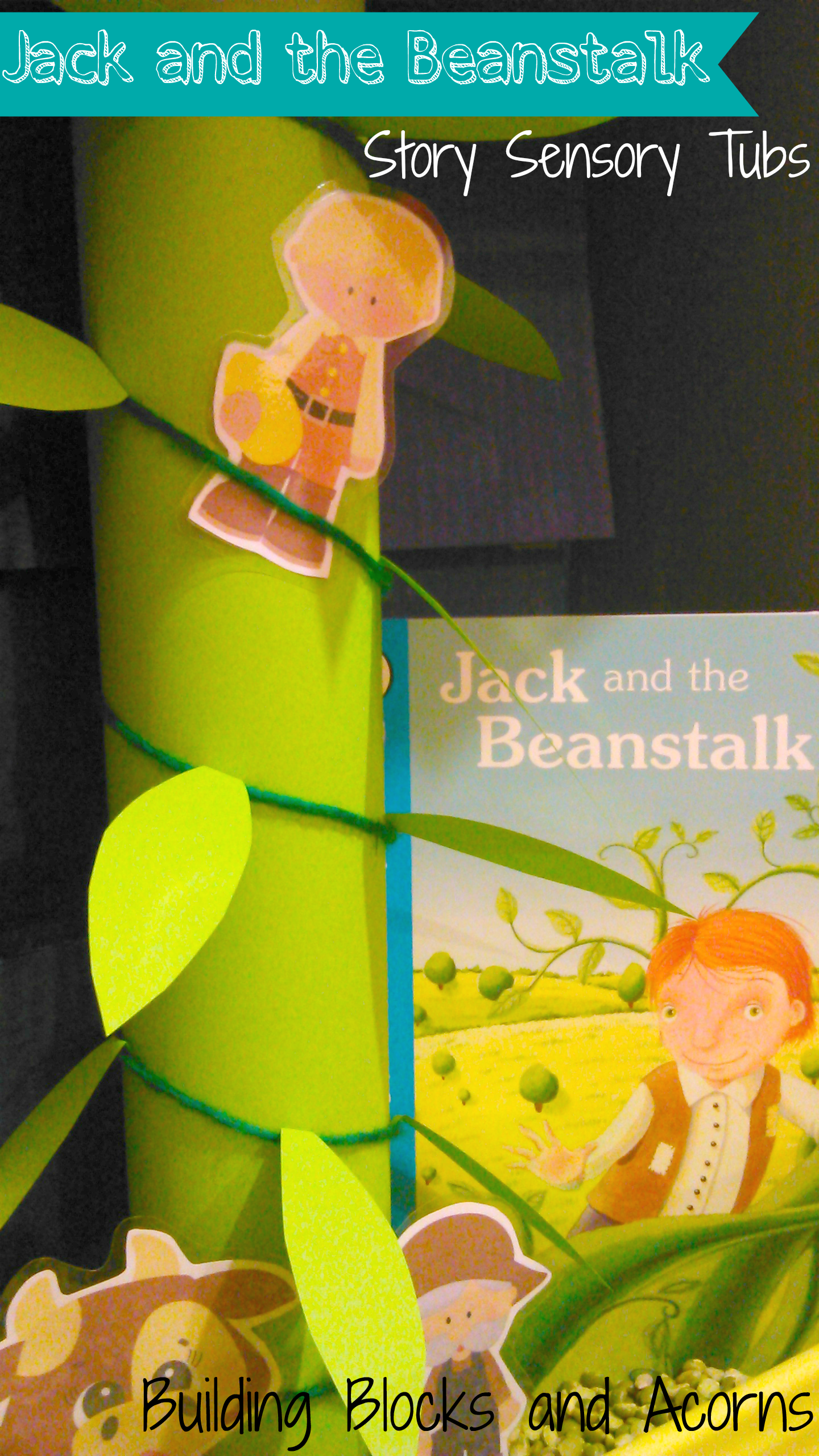 Jack And The Beanstalk Fairytale Sensory Bin Perfect For Story Sequencing Skills From Building