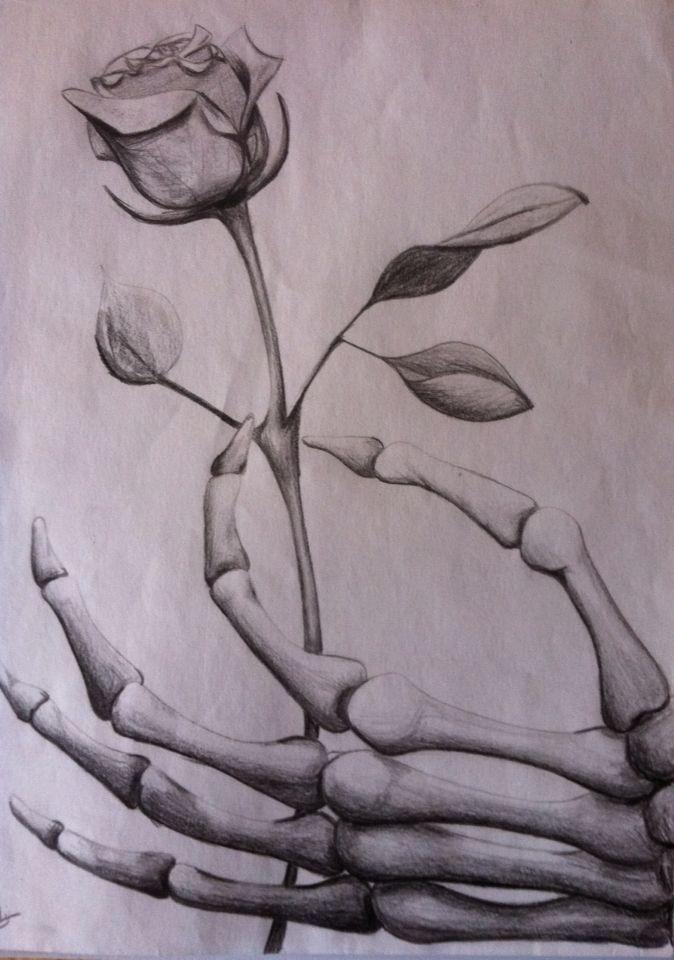 Image result for grim reaper hand holding rose drawing for Hand holding a rose drawing