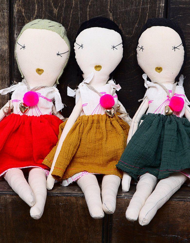 atsuyo et akiko / Jess brown collaboration rag doll