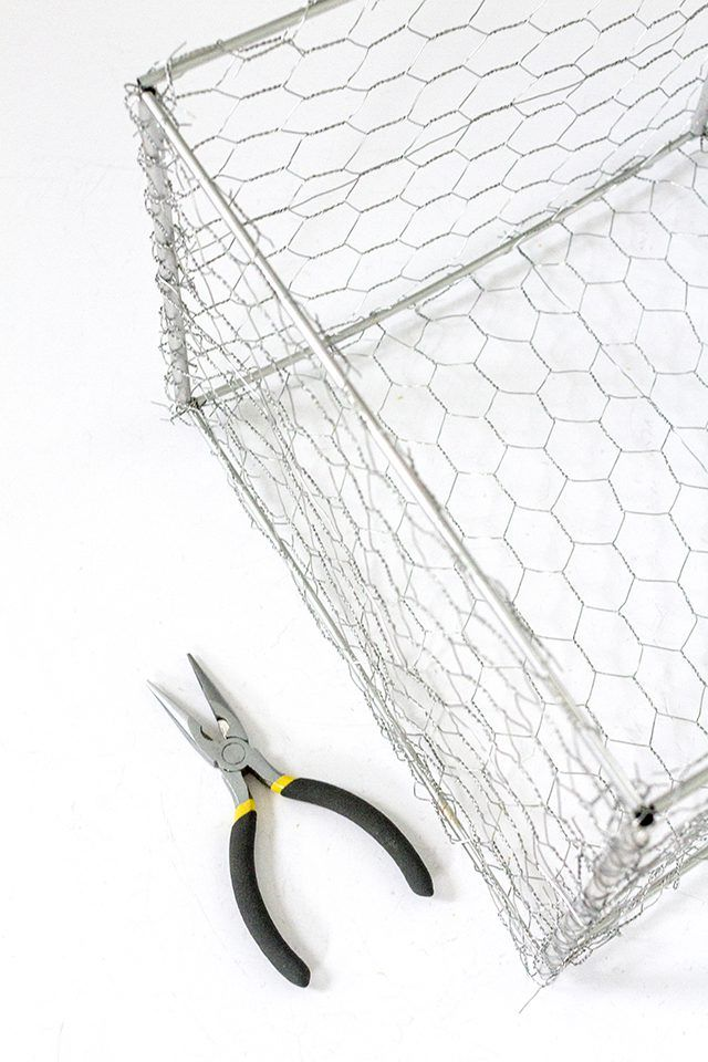 How to Make Wire Baskets | Industrial storage boxes, Industrial ...