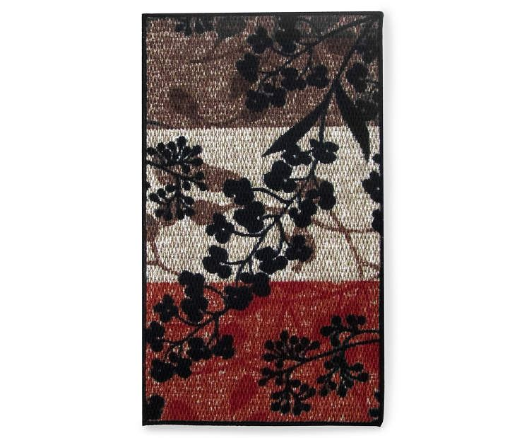 Living Colors Multi Color Raven Accent Rugs At Big Lots Colorful Rugs Accent Rugs Rugs