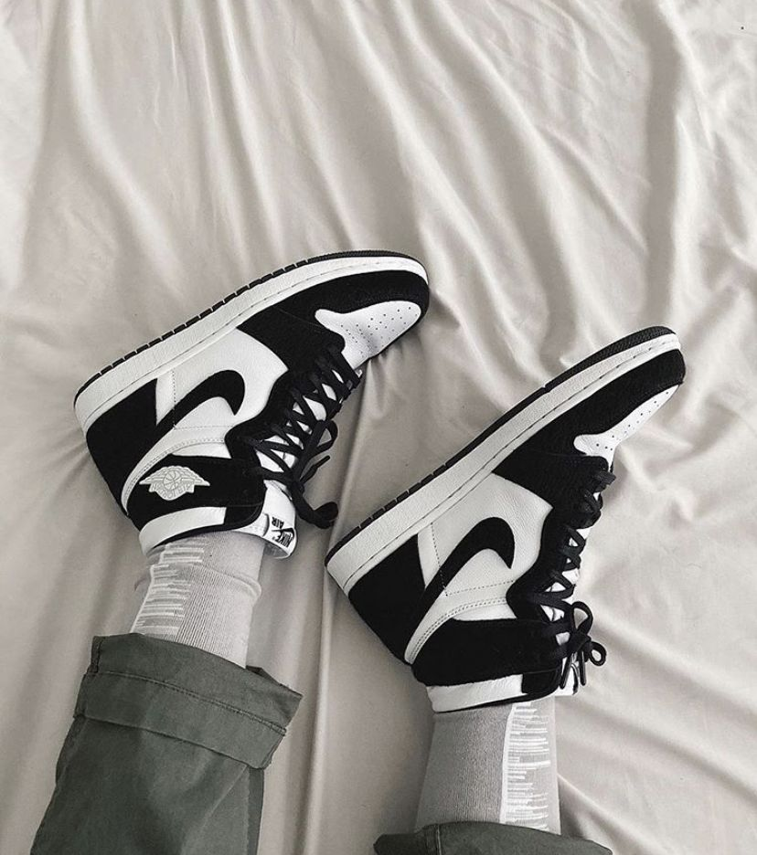 Jordan 1 panda twist in 2020 Jordan shoes girls, Shoes