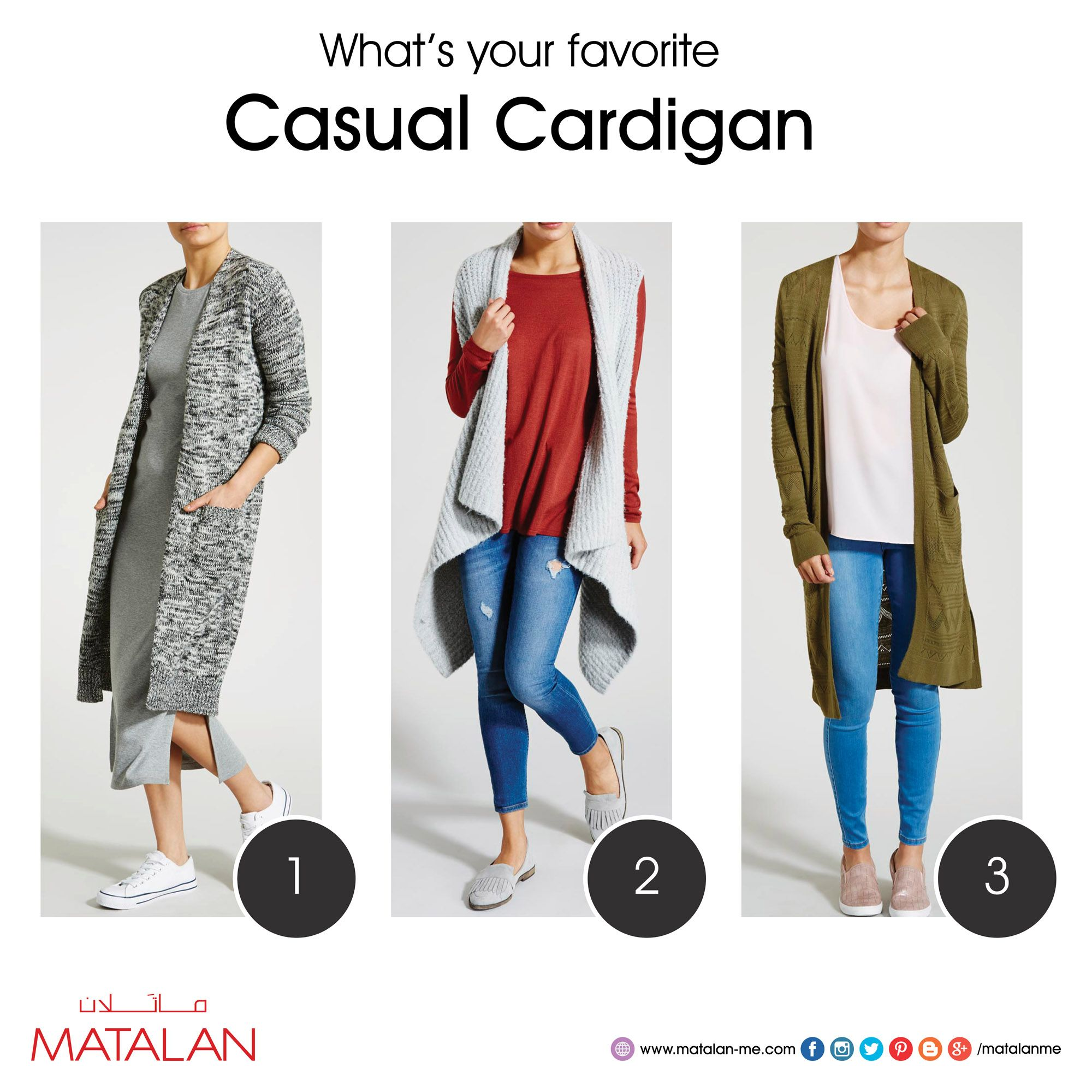 What's your favorite Casual Cardigan, Wrap up in stylish knitwear ...