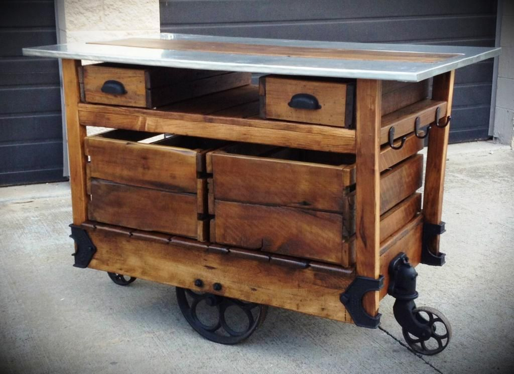 Kitchen Island On Wheels Designs Ideas | All In One Home Ideas