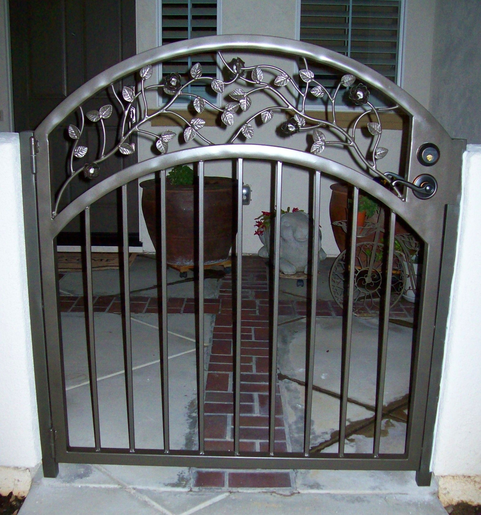 Patio Door Security Gates Patio Sliding Security Doors Yard