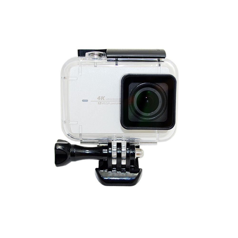 Click To Buy Diving 60m Waterproof Case For Xiaomi Yi 4k Ii Action Camera 2 Sports Protective Housing