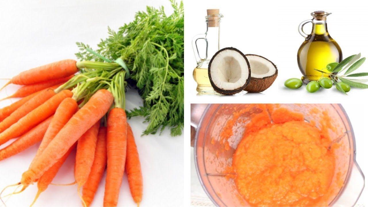 How To Make Carrot Hair Mask DIY Carrot Hair Mask For Split Ends