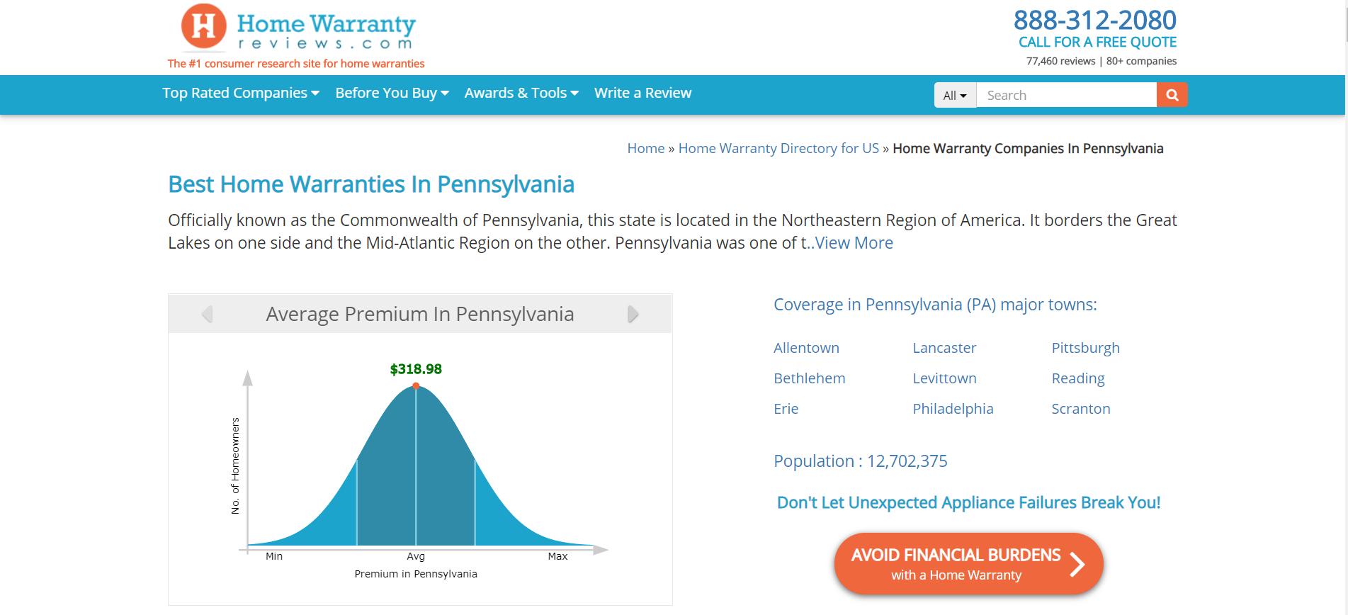 Top 10 Best Home Warranties In Pennsylvania Pa Home Warranty Companies Best Home Warranty Home Warranty