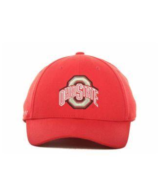 Nike Ohio State Buckeyes Dri-fit Swoosh Flex Cap - Red M L  1dd524f82926