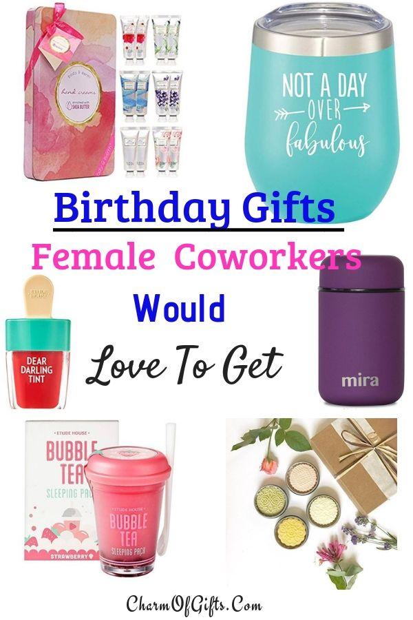Best Female Coworker Birthday Gift Ideas She Would Actually Love Coworker Birthday Gifts Coworkers Birthday Gifts For Female Coworkers