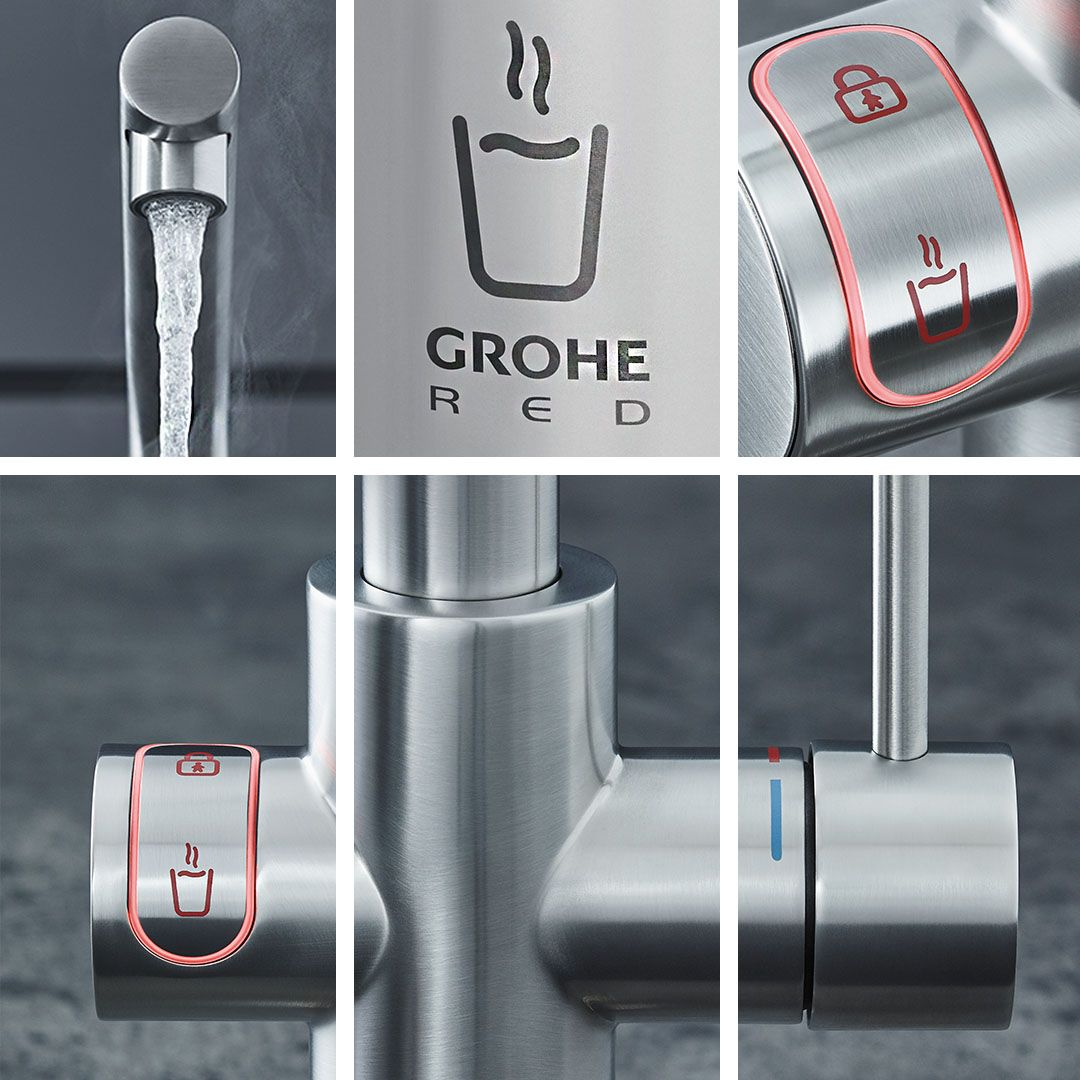 Grohe Red Provides You With Boiling Hot Water Directly From The