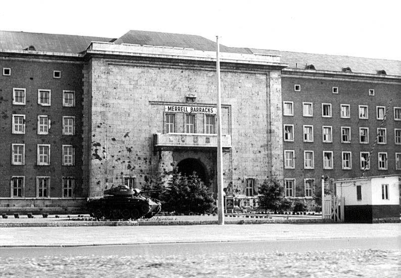 Merrell Barracks Germany Merrell Barracks 2nd Acr Hq In Nürnberg