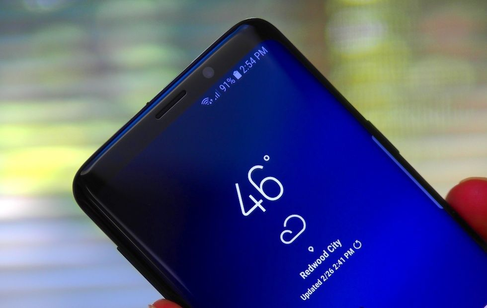 Samsung Working On An In-Display Front Facing Camera